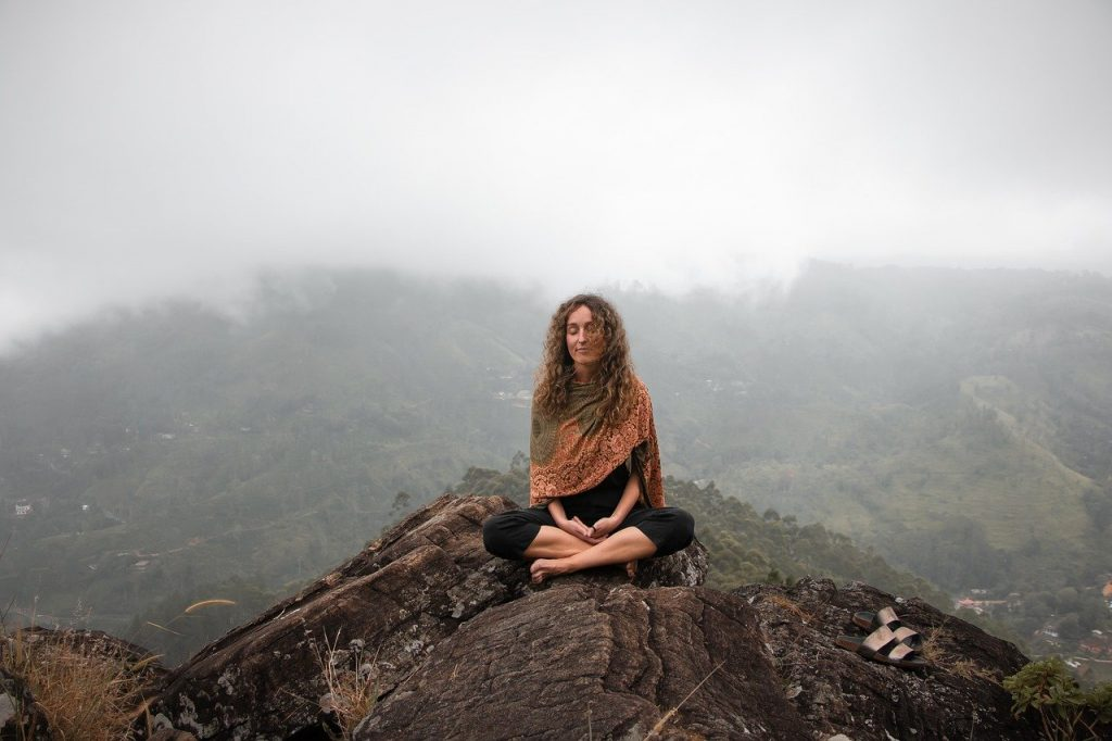 meditace, relax