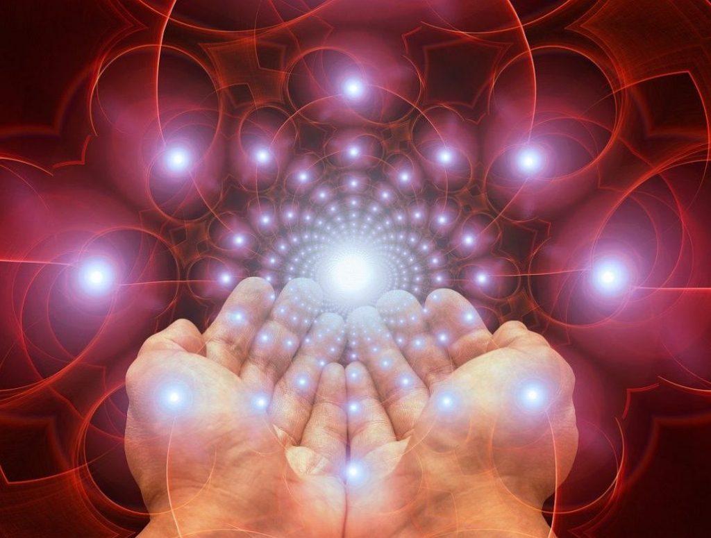 ruce, světlo, seberozvoj